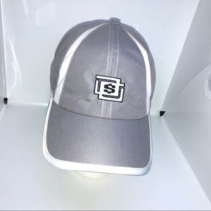Infinity Headgear Cap Gray & White OSFM